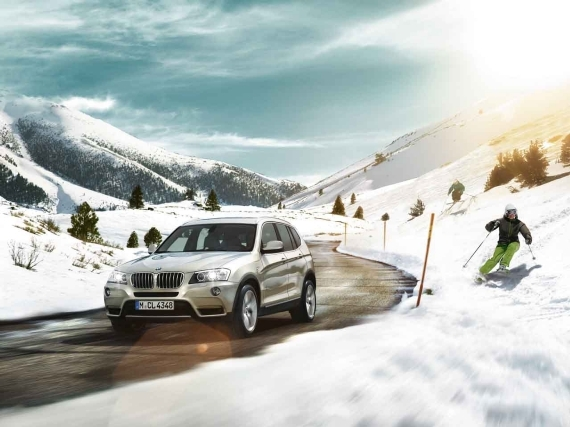 BMW Xdrive Winterfreude