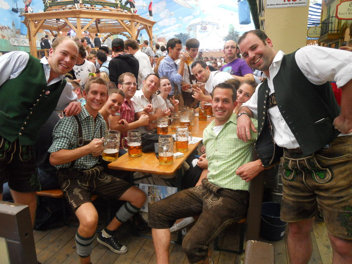 Munich Oktoberfest Germany Hacker Festzelt