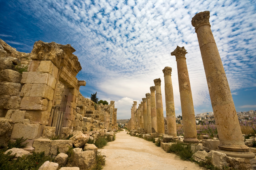 The Cardo in Jerash