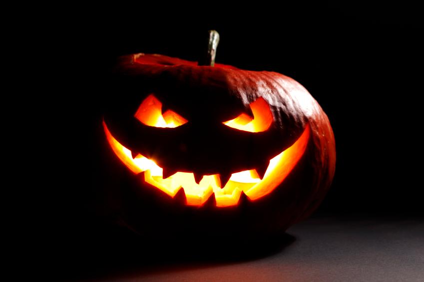 evil halloween pumpkin - Halloween Haunted Places
